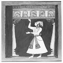  Illustration to the musical mode &quot;Kuntala Raga&quot; (Painting)