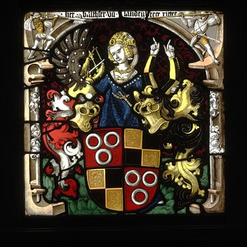 Panel - Arms of Balthasar II von Hohenlandenberg