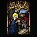 Mary and Joseph Adoring the Christ Child (Panel)