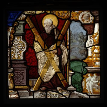 Panel - St Andrew as patron