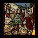 Worship of the Golden Calf, The; Breaking of the Ten Commandments (Panel)