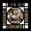 Christ at Supper in the House of Zaccheus (Roundel)