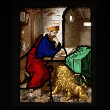 Panel - St Jerome in his study