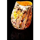 Kyoto Orange Macchia with Tar Lip Wrap, from the Macchia series (Form)
