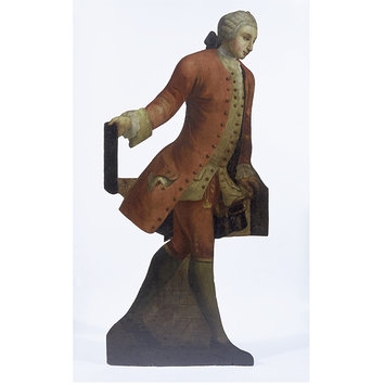 Dummy board figure - Young Man with Sword (dummy board)