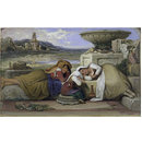 Mendicants of the Roman Campagna (Oil painting)