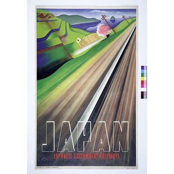 Poster - Japanese Government Railways