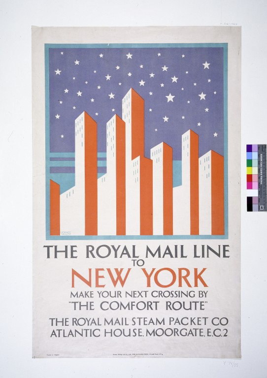 The Royal Mail Line To New York Taylor Horace V Amp A