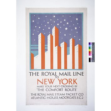 Poster - The Royal Mail Line to New York