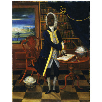 Oil painting - Francis Williams, the Scholar of Jamaica