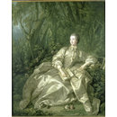 Madame de Pompadour, Mistress of Louis XV (Oil painting)