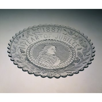 Plate - Queen Victoria; Jubilee