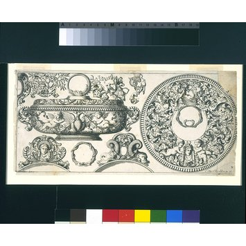 Design - Proper Ornaments to be Engraved on Plate