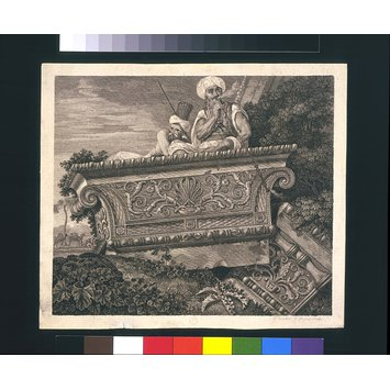 Print - The Temple of Apollo Didymaeus near Miletus