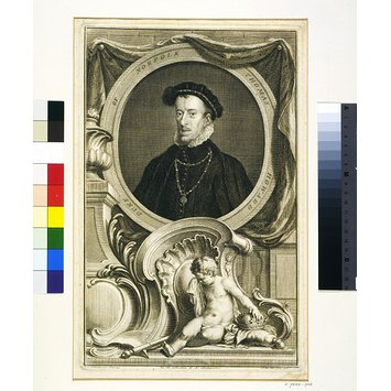 Engraving - Thomas Howard, 4th Duke of Norfolk