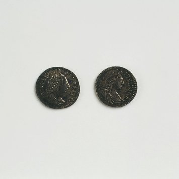 Doll's maundy coin
