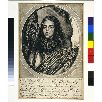 Engraving - Prince Rupert of the Rhine