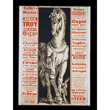 Poster - The Siege of Troy or The Giant Horse of Sinon