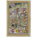Akbar hunting at Palam, near Delhi (Painting)