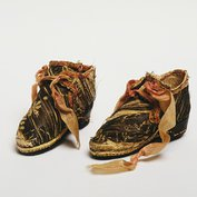 Pair of doll's shoes