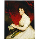Miss Mary Linwood, Artist in Needlework (Oil painting)