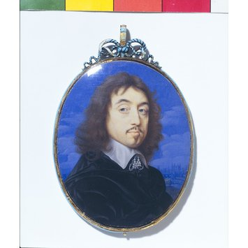 Portrait miniature - A Man, perhaps Sir John Wildman