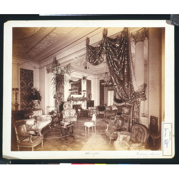 Photograph - A Drawing room, 34 Grosvenor Square