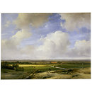 Landscape near Haarlem (Oil painting)