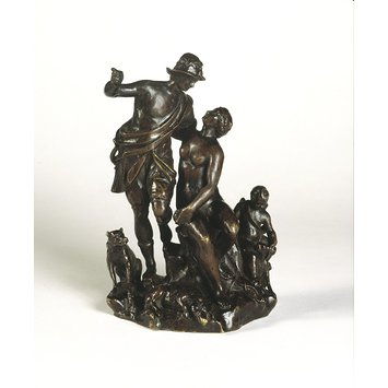 Statuette - Venus, Adonis and Cupid