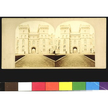Photograph - The Queen's entrance to Windsor Castle