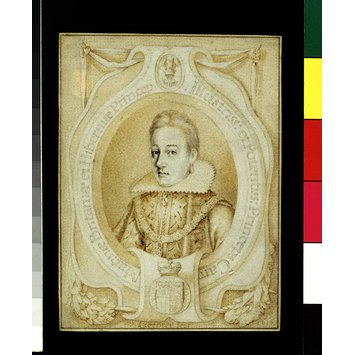 Portrait miniature - Charles I, as Prince of Wales
