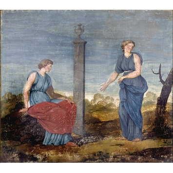 Painting - Decorative painting for Kedleston Hall; Decorative painting for the Breakfast room at Kedleston Hall