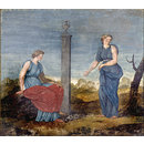 Decorative painting for Kedleston Hall; Decorative painting for the Breakfast room at Kedleston Hall (Painting)