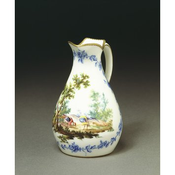 Cream jug - (Pot a eau) Broc ordinaire 4th size