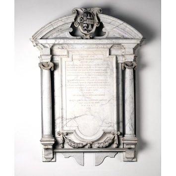 Wall monument - Wall monument to Frances, Lady Finch (d. 1627)