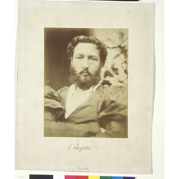 Photograph - Frederic, Lord Leighton