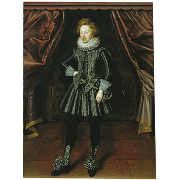 Oil painting - Dudley, the 3rd Baron North; Dudley, Third Baron North (1581-1666)