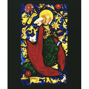 Panel - St Catherine of Alexandria; Mystic Marriage of St Catherine
