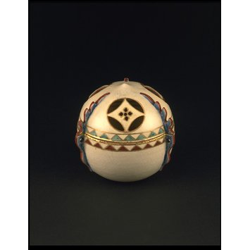 Incense burner and lid