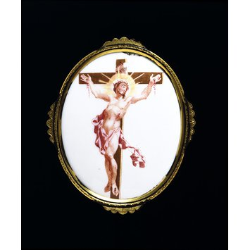 Plaque - Christ on the Cross