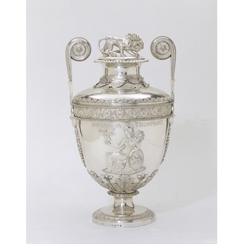 Vase and cover - The Trafalgar Vase