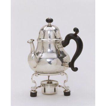 Teapot with stand and burner