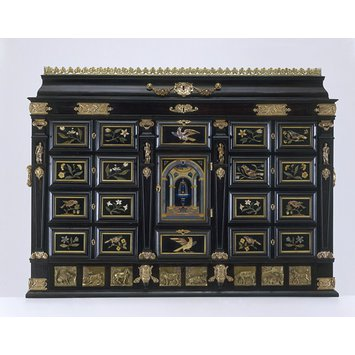 Cabinet on stand - The John Evelyn Cabinet
