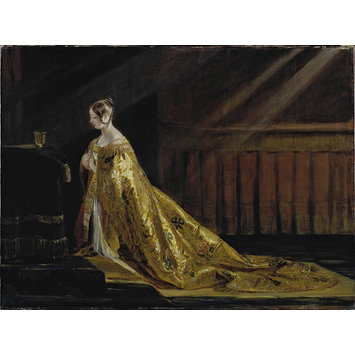 Oil painting - Queen Victoria in Her Coronation Robes
