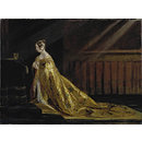 Queen Victoria in Her Coronation Robes (Oil painting)