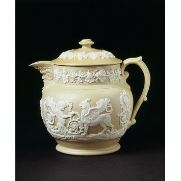Covered jug