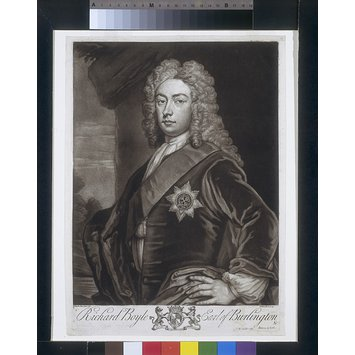 Print - Richard Boyle Earl of Burlington &c.