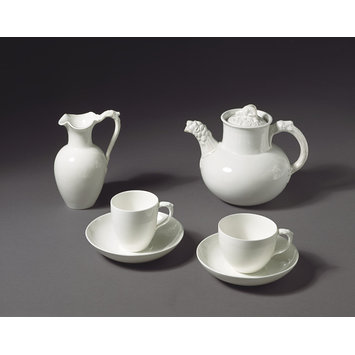 Coffee cup and saucer - Henry Cole Tea Service; Oxford; FS