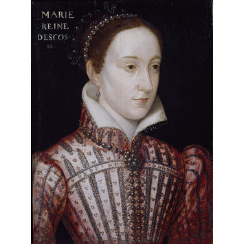 Painting - Portrait of Mary Stuart, Queen of Scots