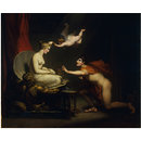Love Animating Galatea, the Statue of Pygmalion (Painting)